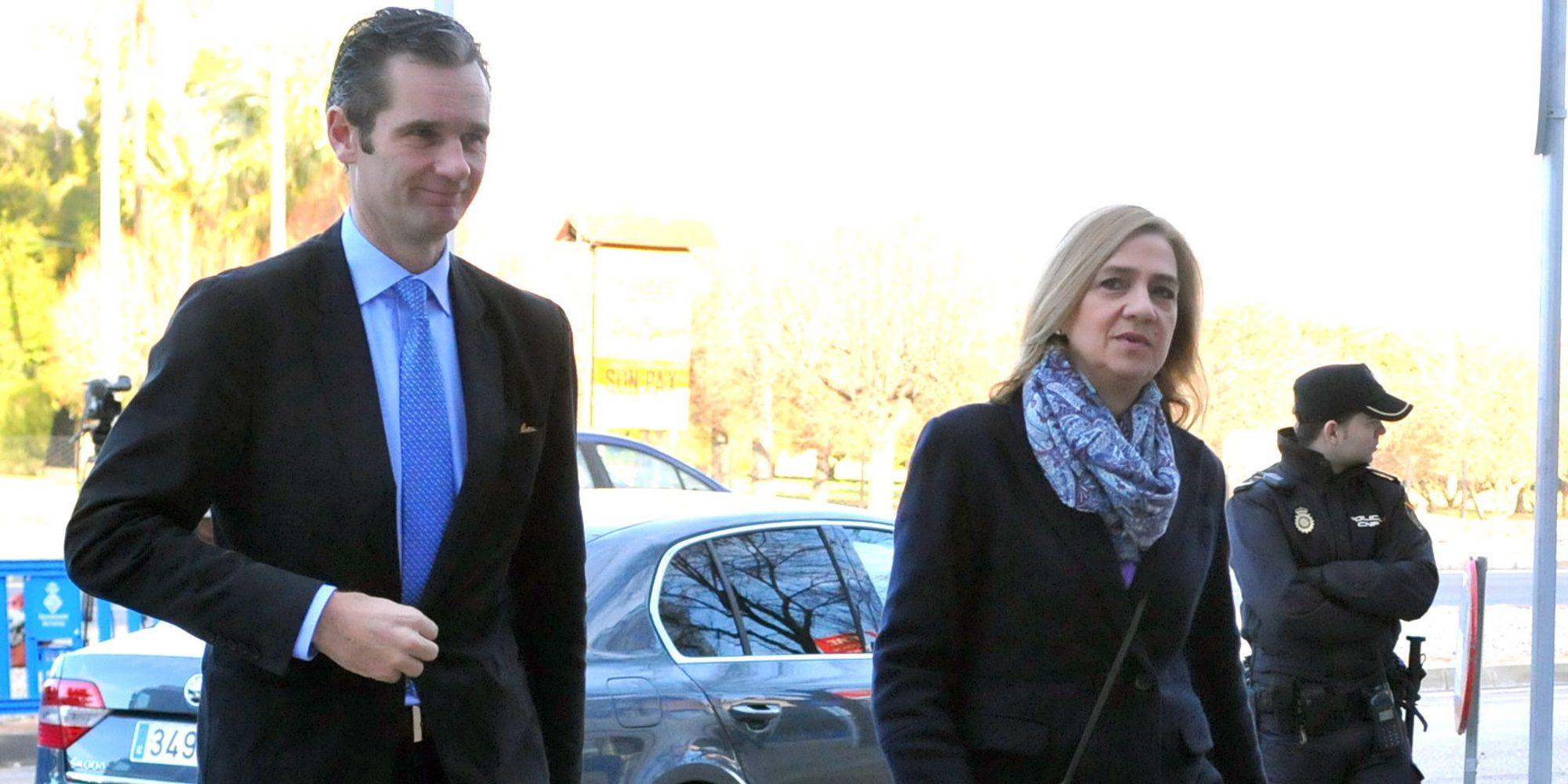 La Infanta Cristina e Iñaki Urdangarin volvieron a ser de la realeza por un día