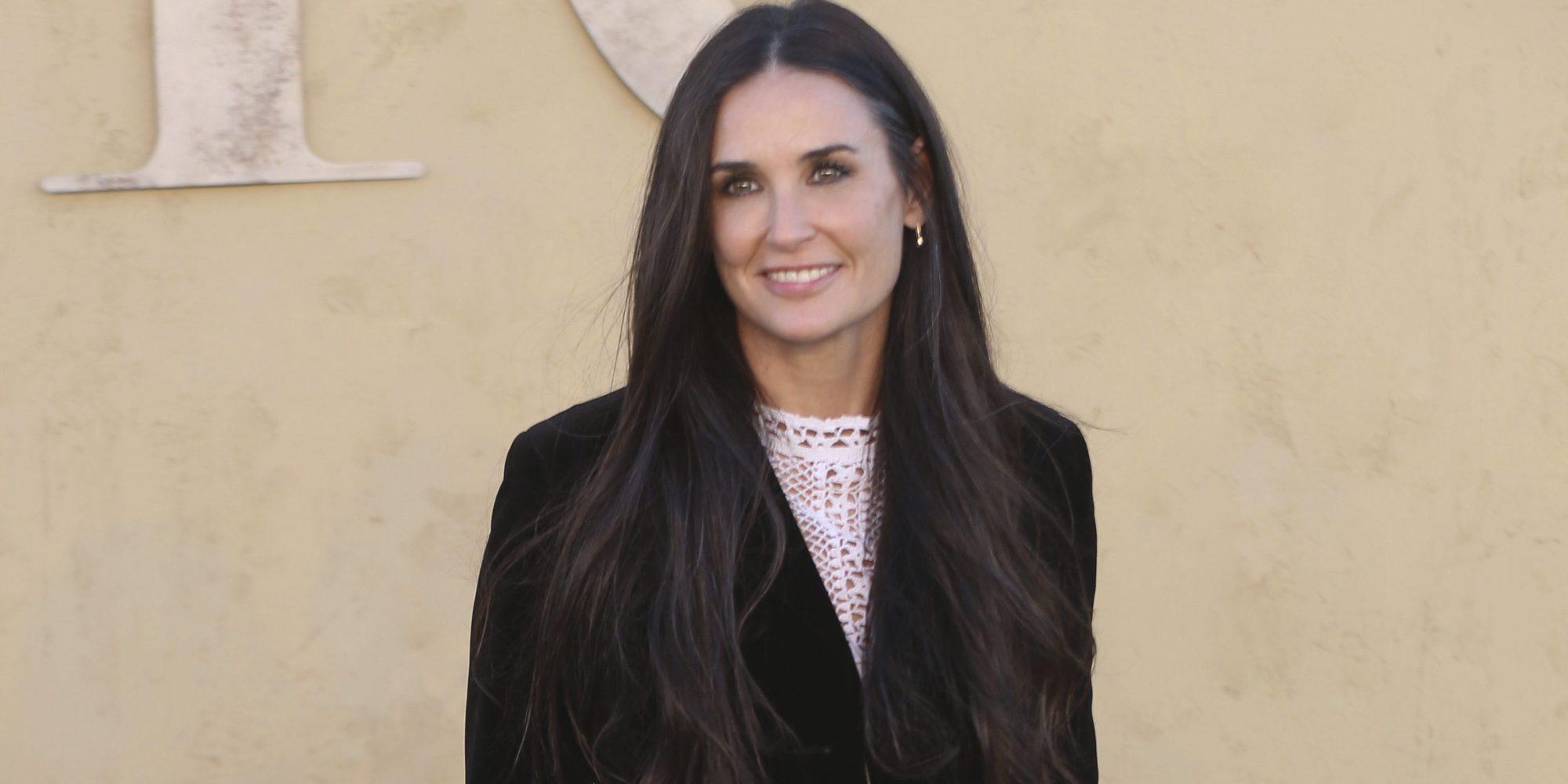 Demi Moore tuvo una aventura en Madrid con un torero español hace varios años