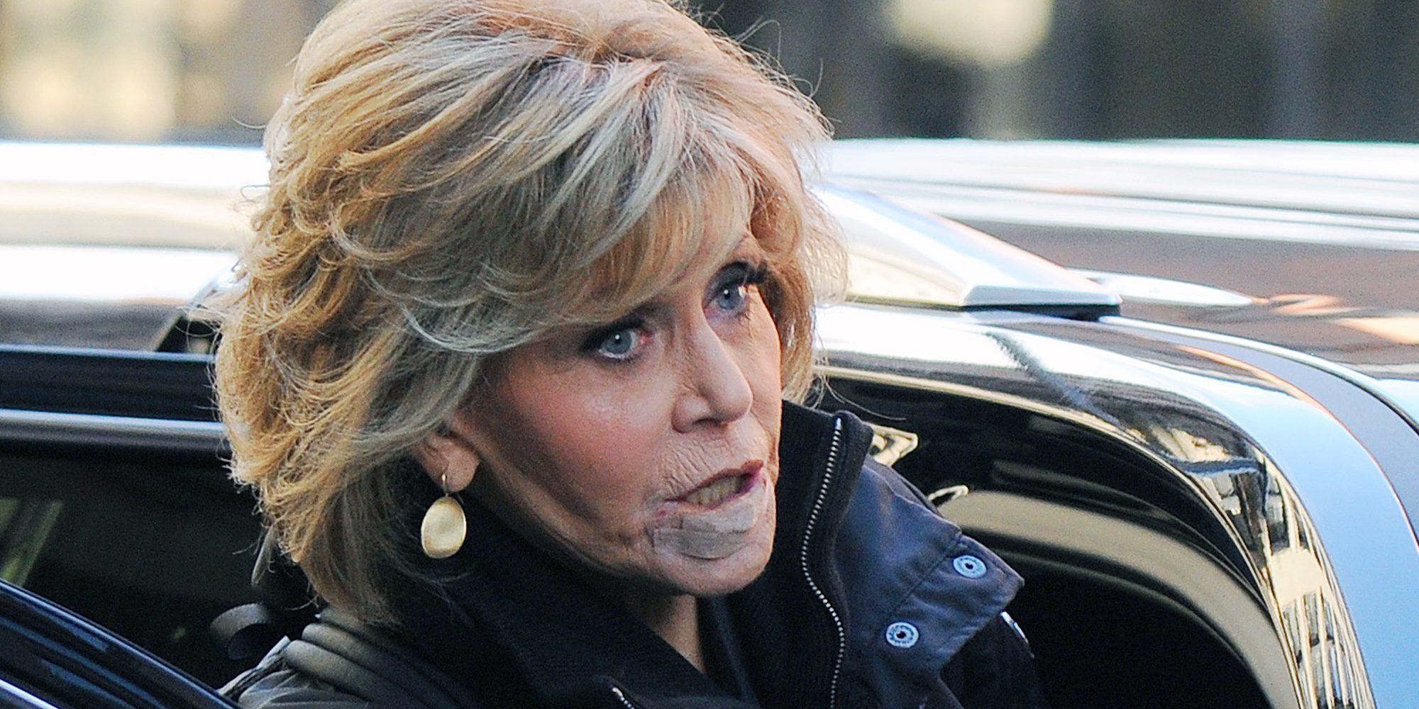 Jane Fonda revela que ha tenido un cáncer que afectó a su labio inferior
