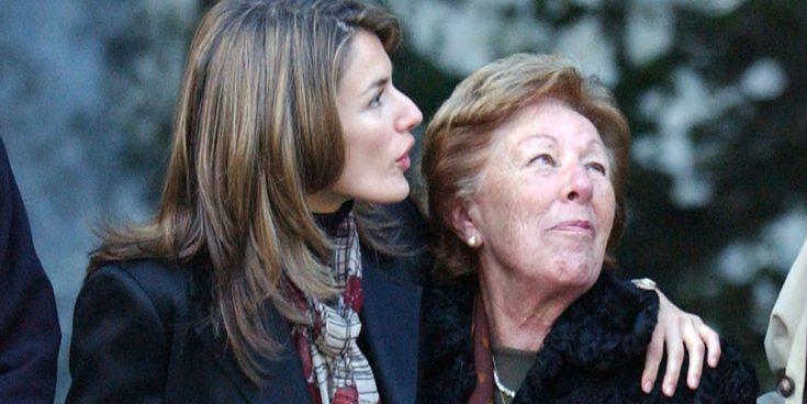 Menchu Álvarez del Valle: así ha sido la vida de la abuela locutora de la Reina Letizia
