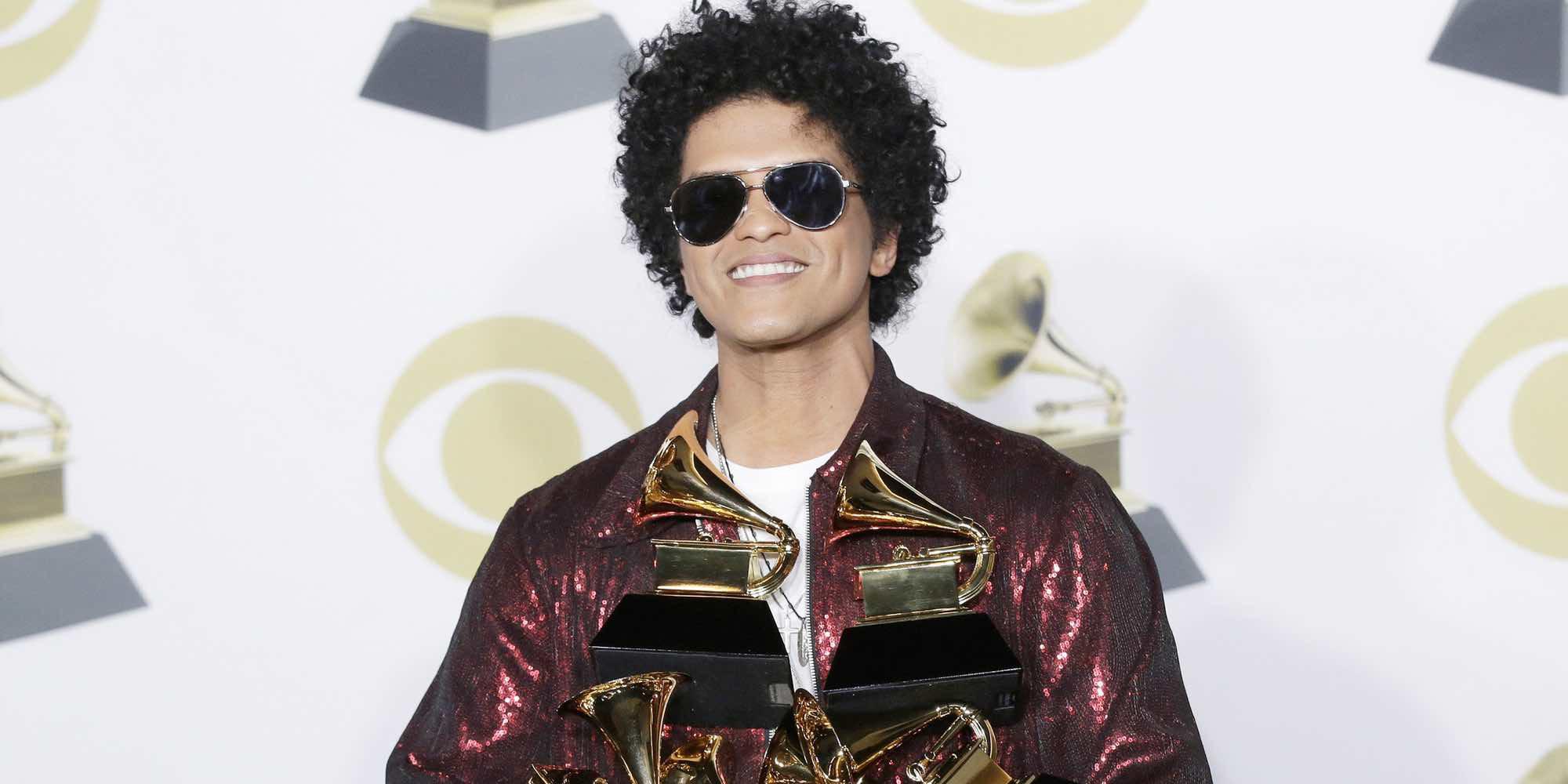 Lista completa de ganadores de los Grammy 2018: Bruno Mars, el vencedor