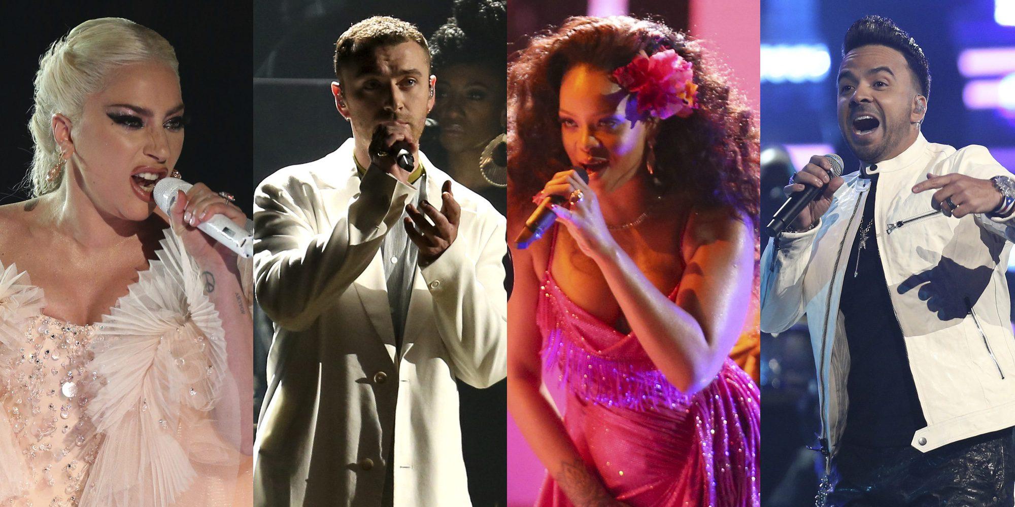 Las mejores actuaciones de los Grammy 2018: de Lady Gaga al 'Despacito' de Luis Fonsi