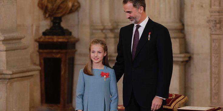 Sonrisas, reverencias, nervios y emoción: así ha sido la entrega del Toisón de Oro a la Princesa Leonor