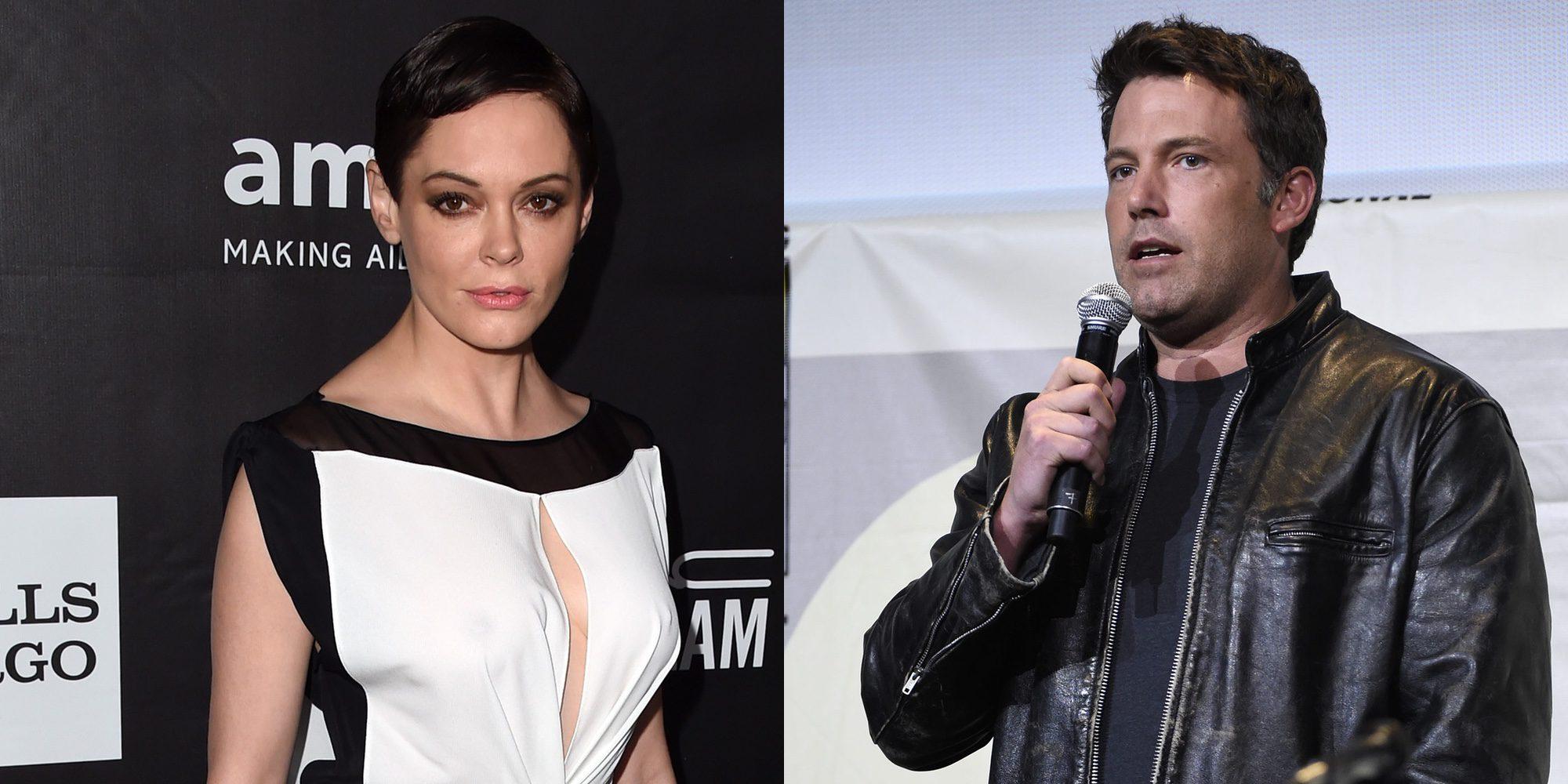 Ben Affleck niega que Rose McGowan le confesara los abusos sexuales de Harvey Weinstein