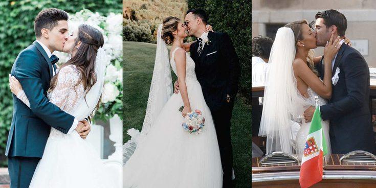 Álvaro Morata y Alice Campello, Risto Mejide y Laura Escanes,... celebran su primer San Valentín de casados