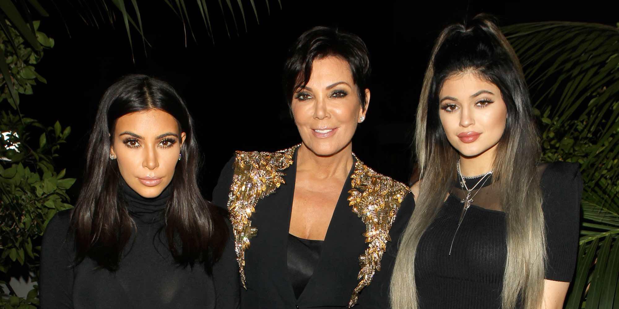 "Kris Jenner, Caitlyn Jenner y Kim Kardashian, orgullosos de Kylie Jenner: ""Es una madre increíble"""