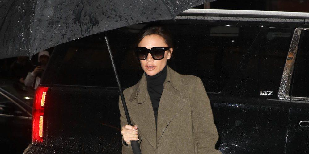 La familia Beckham, muy comprometidos con la moda, acuden impecables al desfile de Victoria Beckham