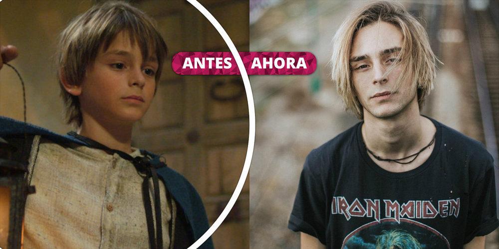 Así ha cambiado Guillermo Campra: La transformación del joven actor de 'Águila Roja'