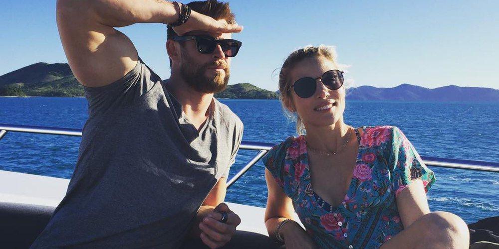 Elsa Pataky y Chris Hemsworth disfrutan de unas vacaciones muy aventureras