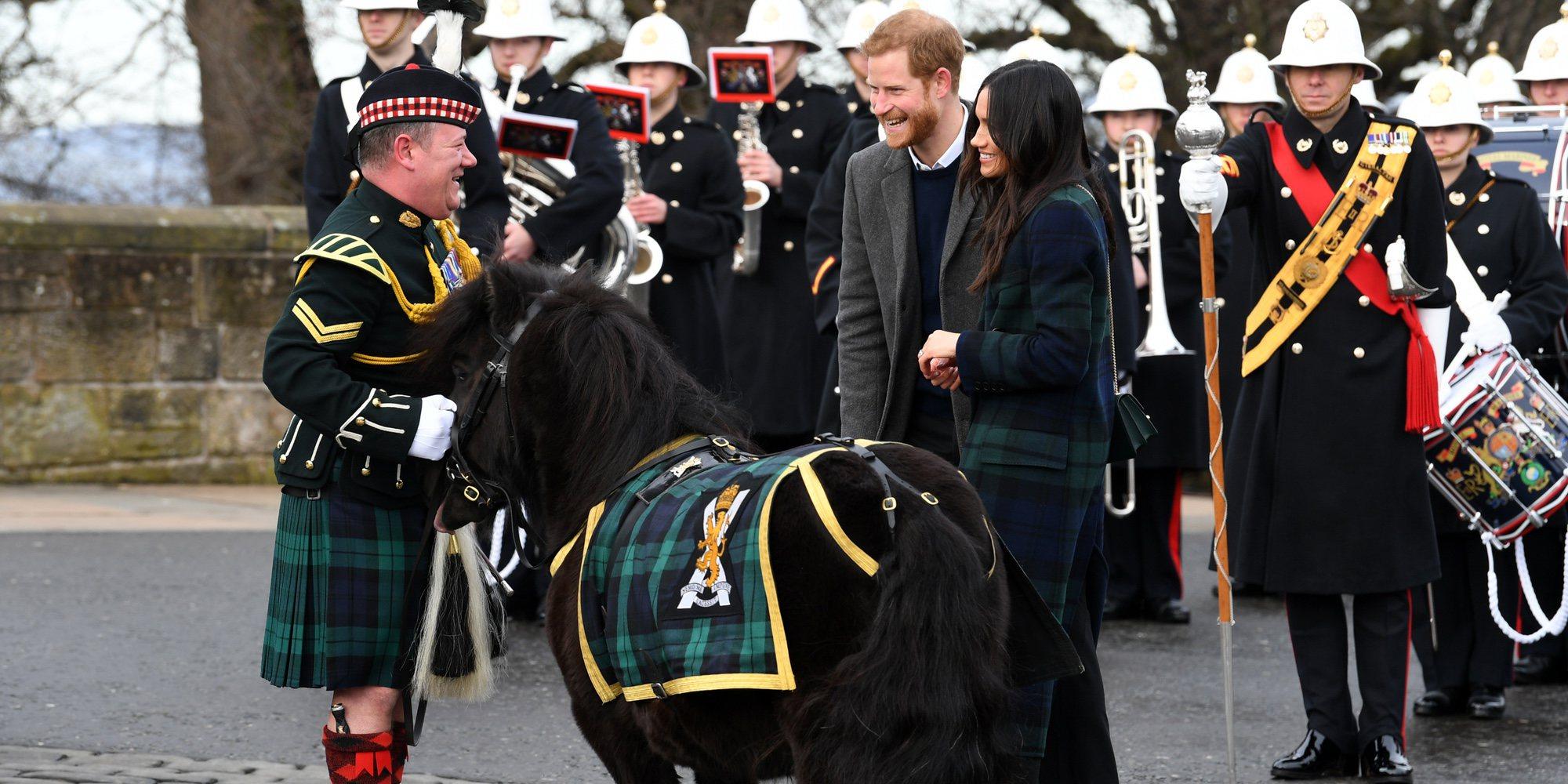 Meghan Markle conquista Escocia durante su visita oficial junto al Príncipe Harry