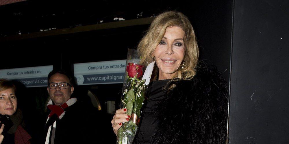 Bibiana Fernández celebra su 64 cumpleaños subida en los escenarios y rodeada de amigos