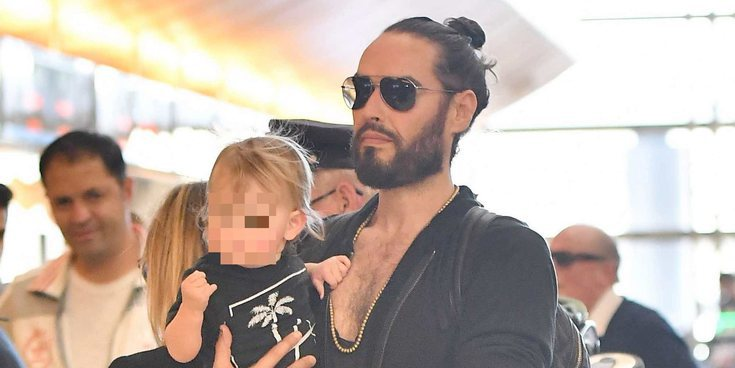 Russell Brand, todo un padrazo: Podría estar esperando su segundo hijo junto a Laura Gallacher