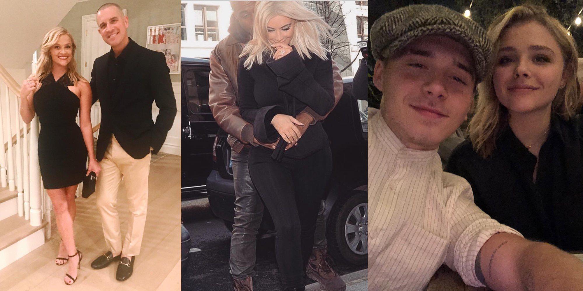 Así han celebrado Kim Kardashian, Reese Witherspoon o Brooklyn Beckham San Valentín 2018: ¡Cuánto amor!