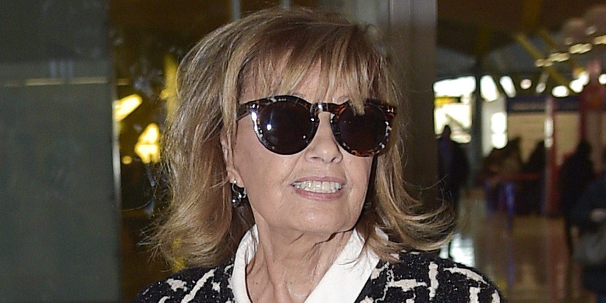 María Teresa Campos ha sido ingresada por fuertes dolores abdominales y aclara su estado en 'Sábado Deluxe'
