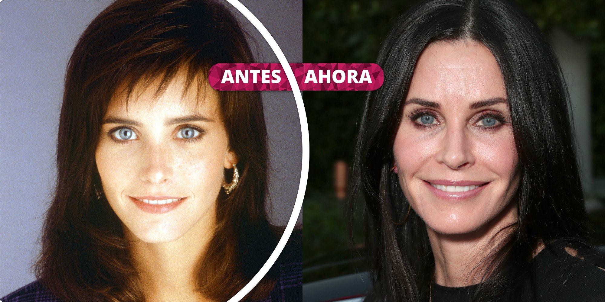 Así ha cambiado Courteney Cox: La increíble transformación de la actriz de 'Friends'