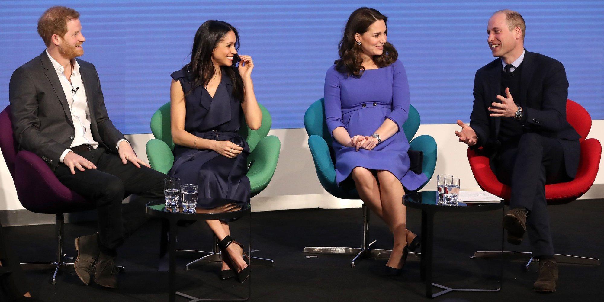 Los 4 fantásticos: Meghan Markle se une a los Duques de Cambridge y el Príncipe Harry en el Royal Foundation Forum