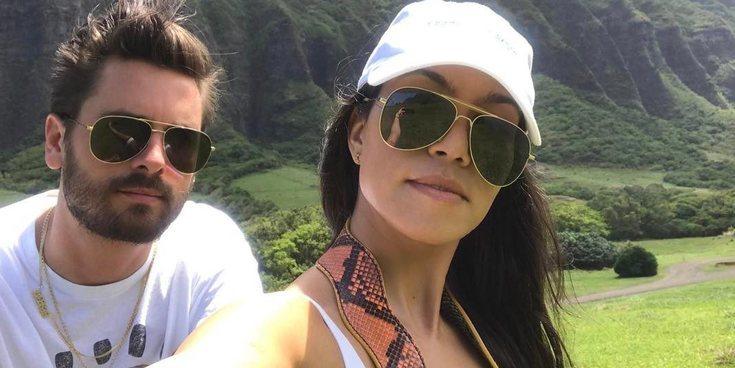 Kourtney Kardashian establece límites a Scott Disck en su hogar