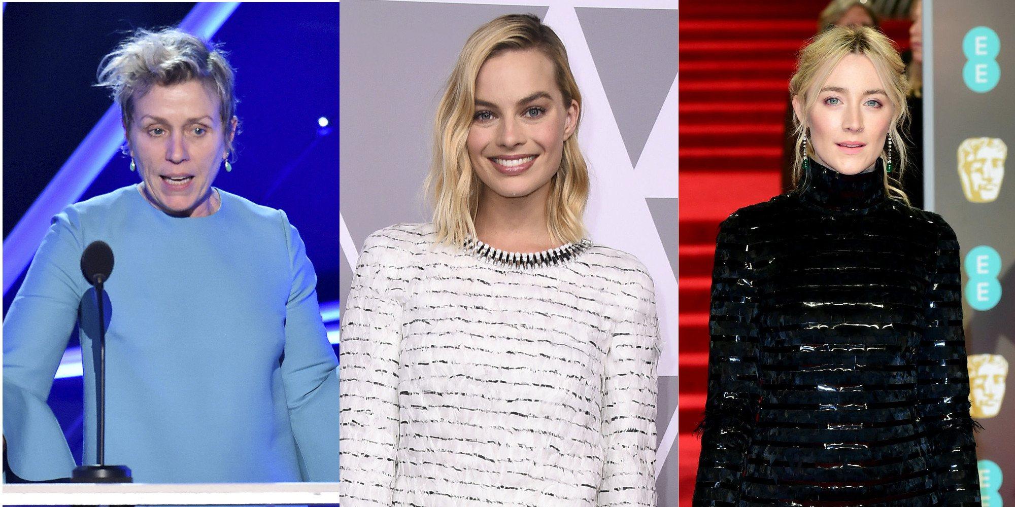Frances McDormand, Saoirse Ronan y Margot Robbie, grandes favoritas a Mejor Actriz en los Oscar 2018