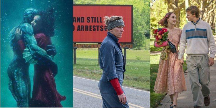 'La forma del agua' o 'Tres anuncios a las afueras' ¿Quién debería ganar el Oscar a la Mejor Película?