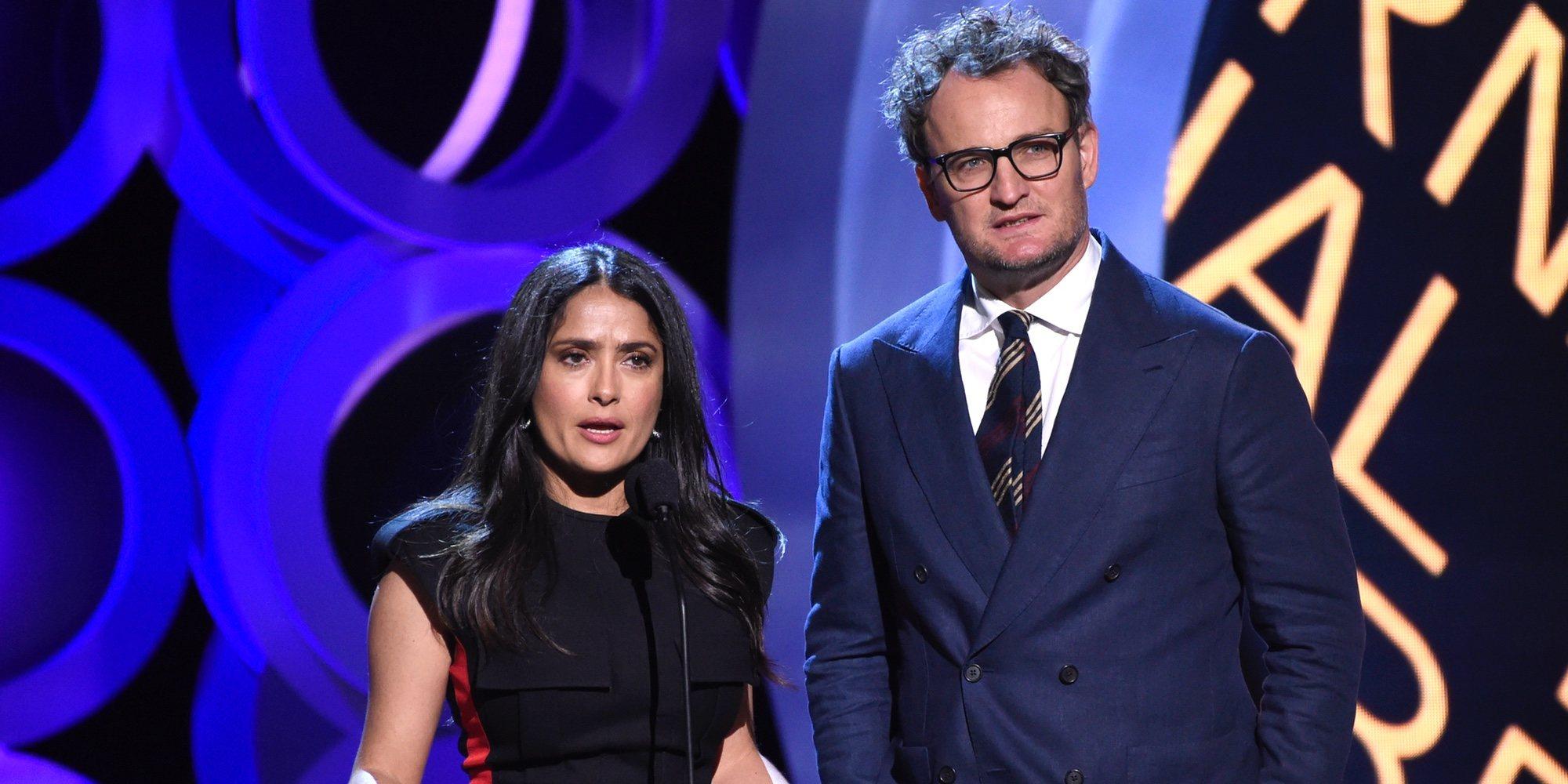 Salma Hayek arremete contra Donald Trump en los Spirit Awards por sus declaraciones racistas