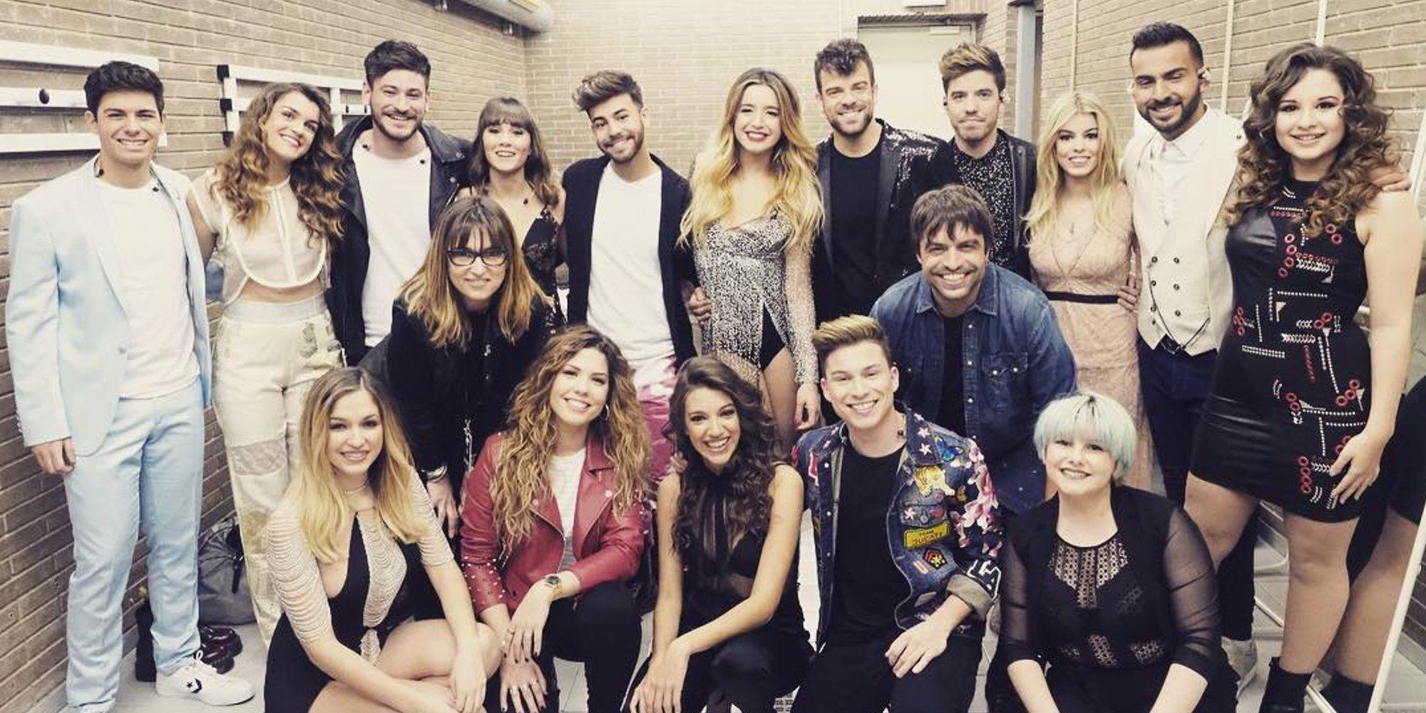 Emoción, diversión y mucha expectación en el primer concierto de 'OT 2017' en Barcelona