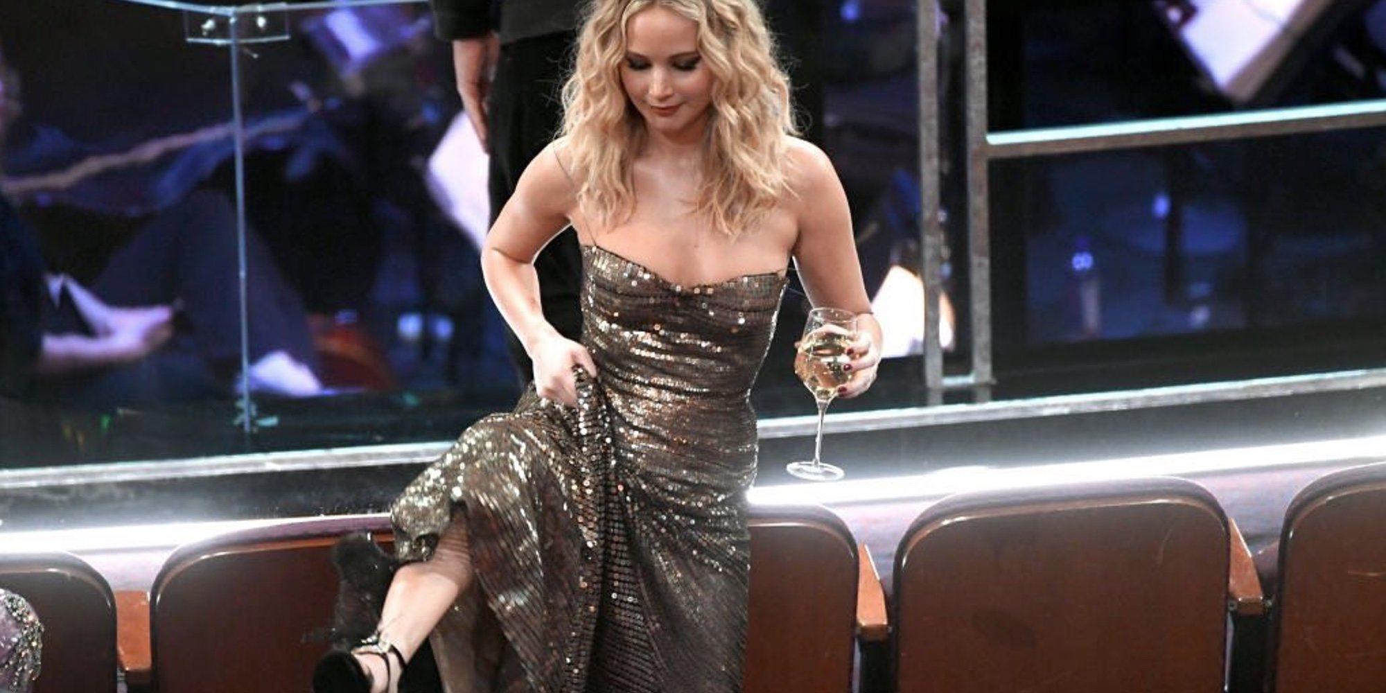 Los Oscar 2018: De Jennifer Lawrence saltando entre sillones al discurso feminista de Frances McDormand