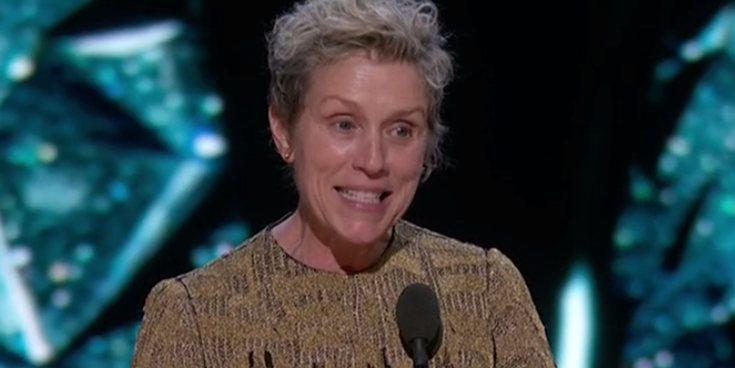 Frances McDormand gana el Premio Oscar 2018 a Mejor actriz protagonista por 'Tres anuncios en las afueras'