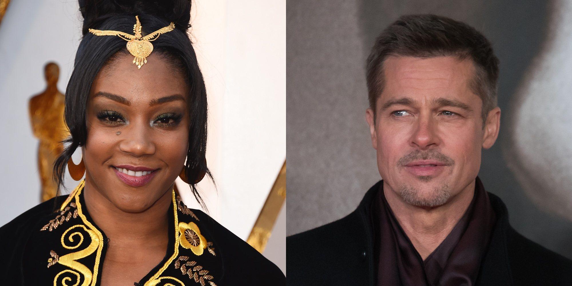 Brad Pitt y Tiffany Haddish se comprometen a salir en un año en la Gala de los Premios Oscar 2018