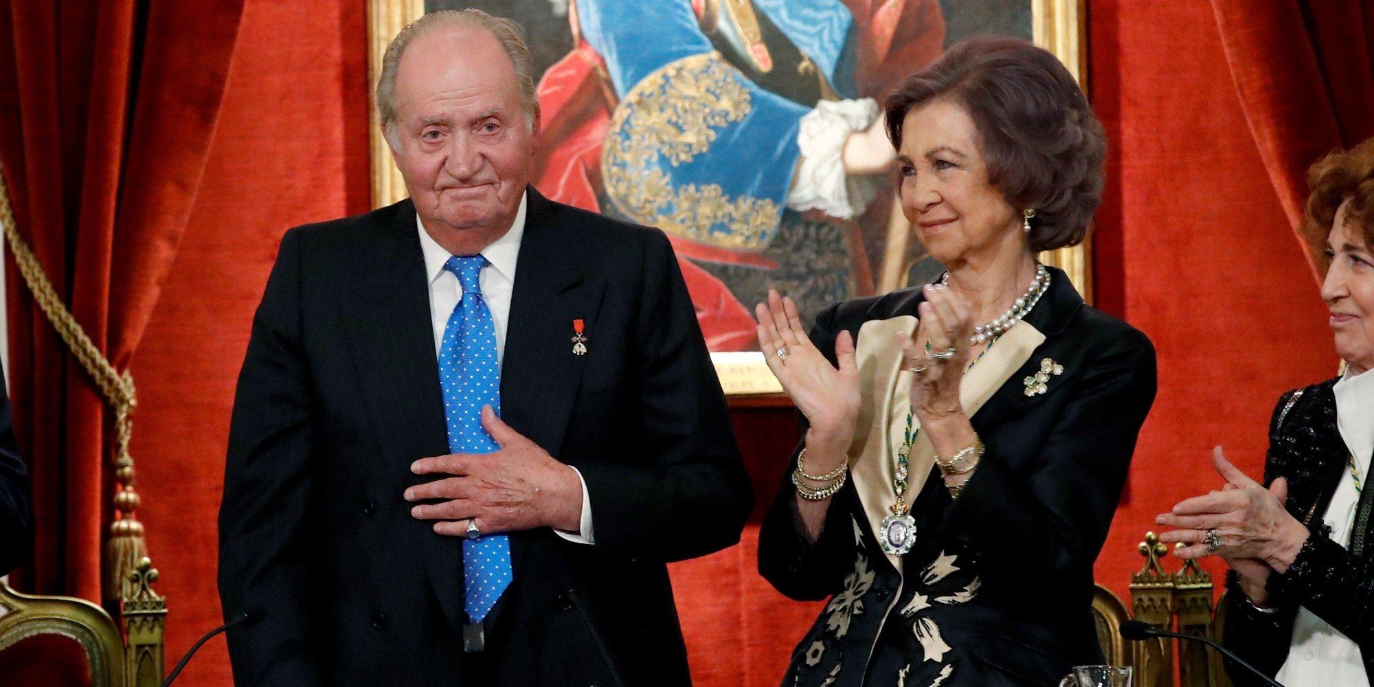 El agradecimiento del Rey Juan Carlos a la Reina Sofía y a la Academia de la Historia por su homenaje de cumpleaños