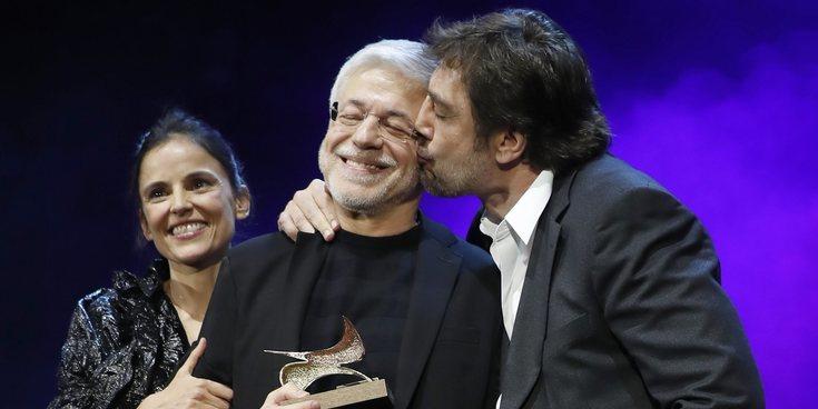 """El gran homenaje de Javier Bardem a su maestro Juan Carlos Corazza: """"Me ha enseñado a amar mi profesión"""""""