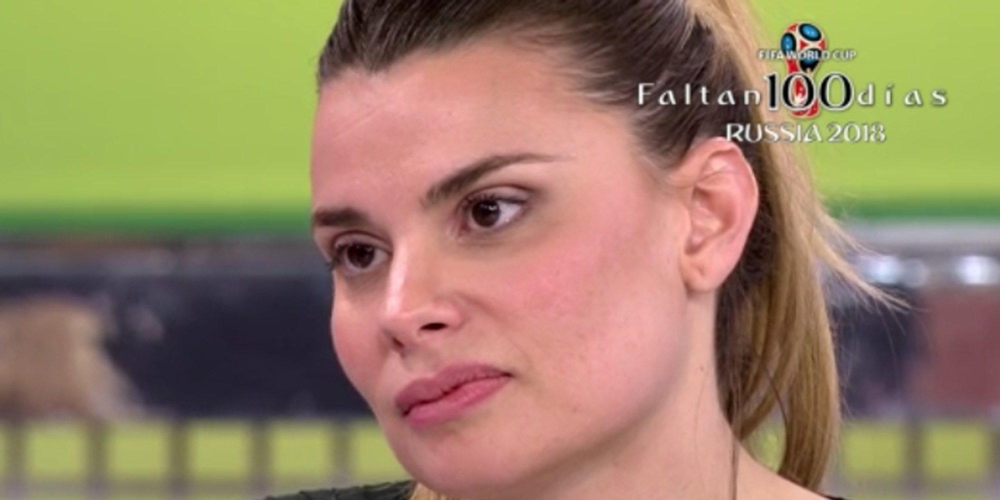 La exmujer de Gustavo González habría amenazado con sentarse en 'Sálvame' si María Lapiedra vuelve a nombrarla