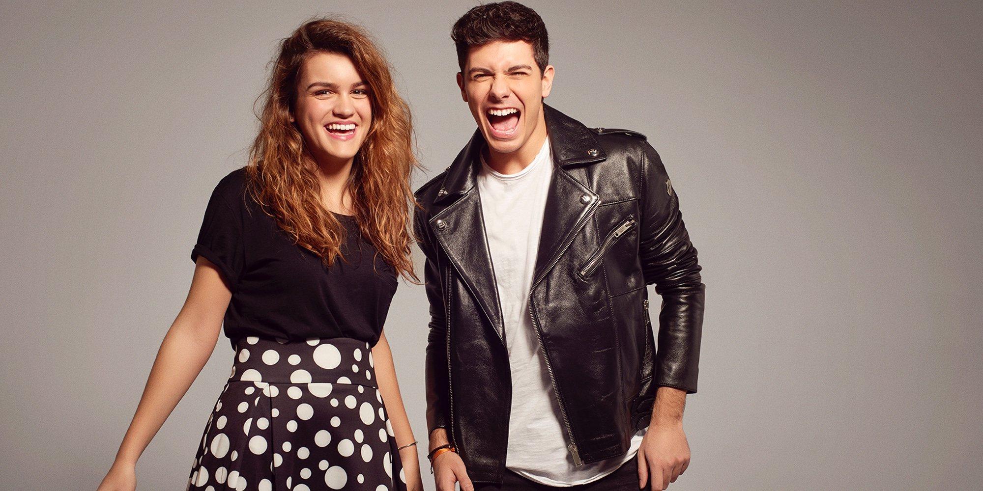 Amaia y Alfred, divertidos y cómplices en las fotos oficiales de Eurovisión 2018