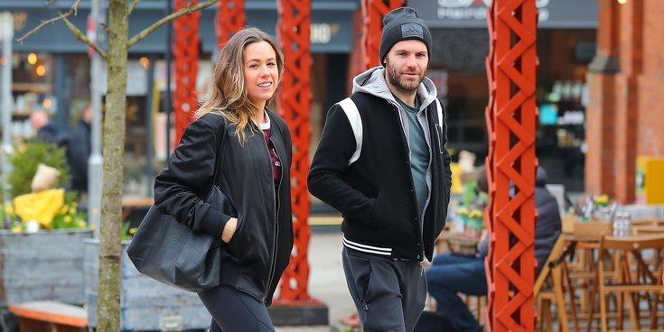 Juan Mata y Evalina Kamph pasean su amor por las calles de Manchester