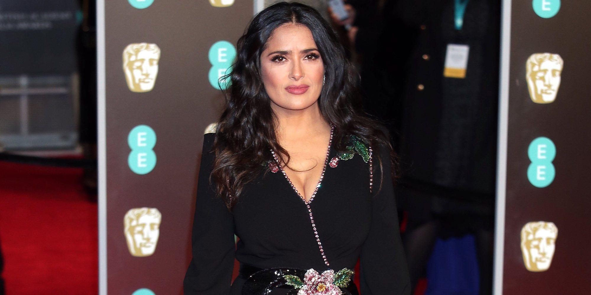 Salma Hayek comparte uno de sus mejores momentos de los Premios Oscar 2018