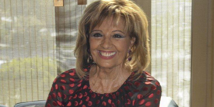 María Teresa Campos regresa a la televisión con un pequeño proyecto