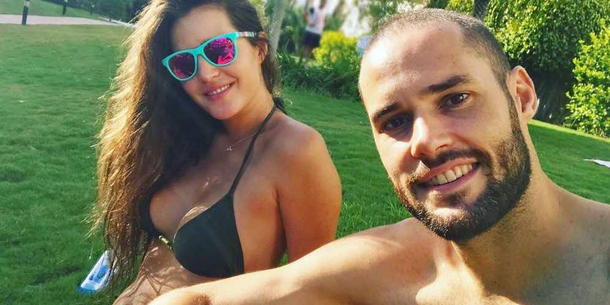 Mario Suárez, muy criticado por publicar una foto de Malena Costa limpiando