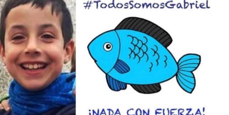 Multitud de rostros famosos muestran su apoyo a la familia de Gabriel, el menor desaparecido