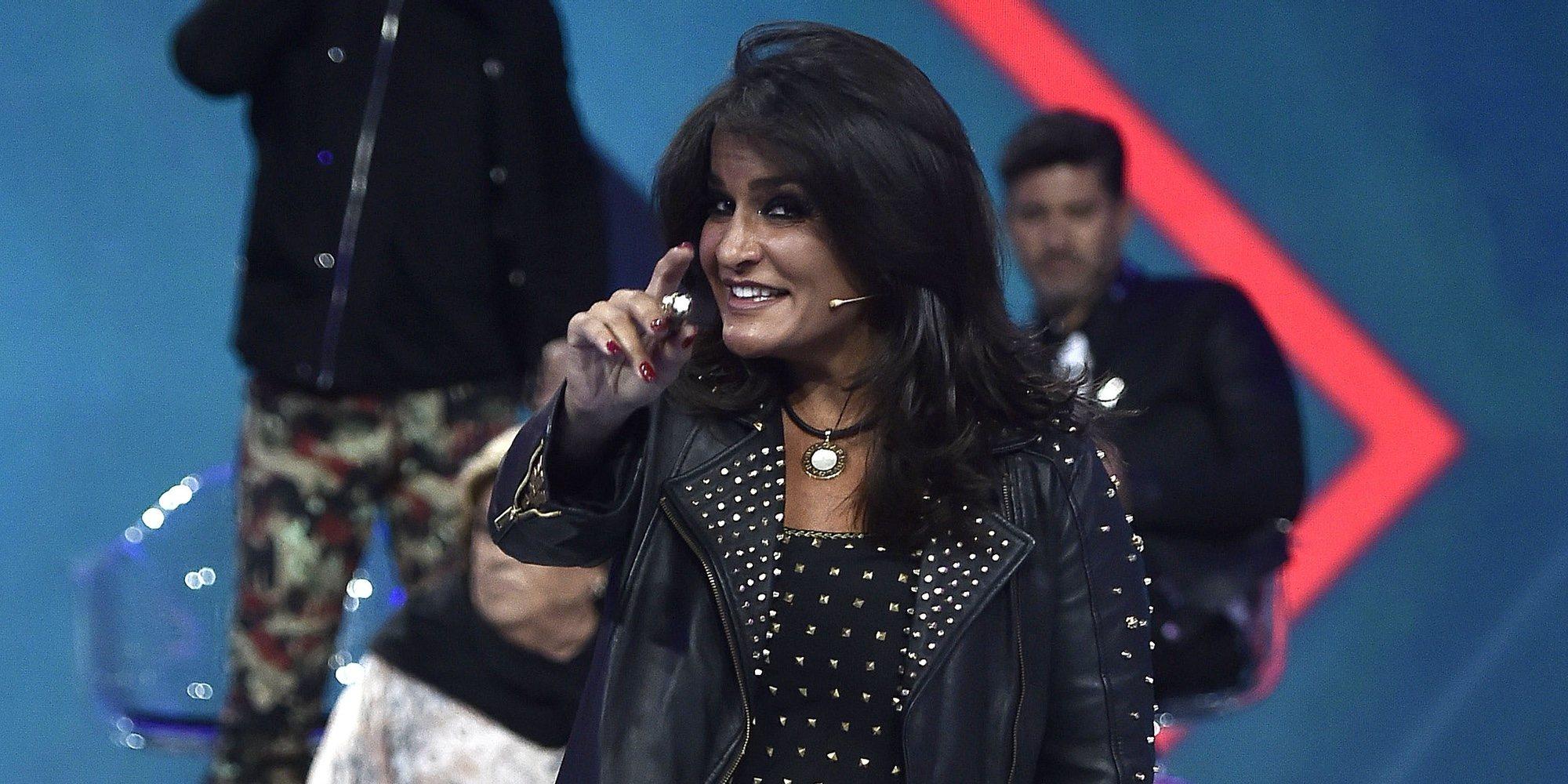 """Aída Nízar, toda una estrella en la televisión italiana: """"Todo lo bueno que tengo me lo merezco"""""""