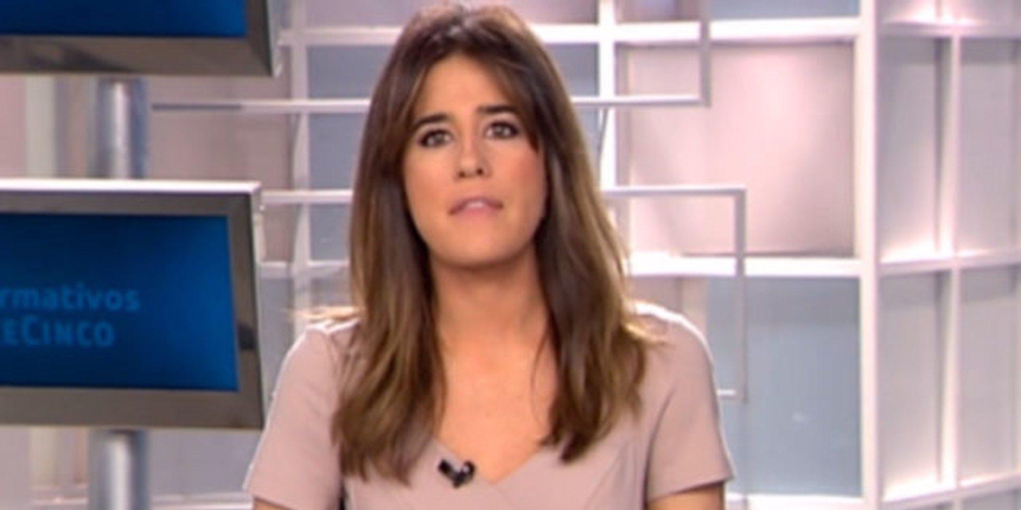 Isabel Jiménez, al borde del llanto en directo en Informativos Telecinco por el caso de Gabriel Cruz