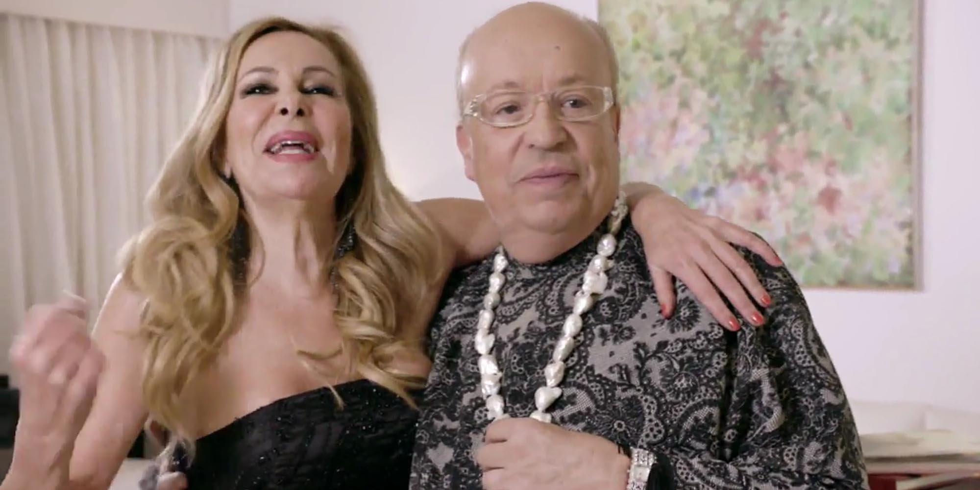 Ana Obregón y Rappel se alzan con el triunfo de la primera edición de 'Ven a cenar conmigo: Gourmet Edition'