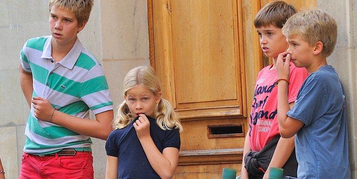 Los hijos de la Infanta Cristina e Iñaki Urdangarin imponen el exilio en Ginebra y no el Rey Felipe