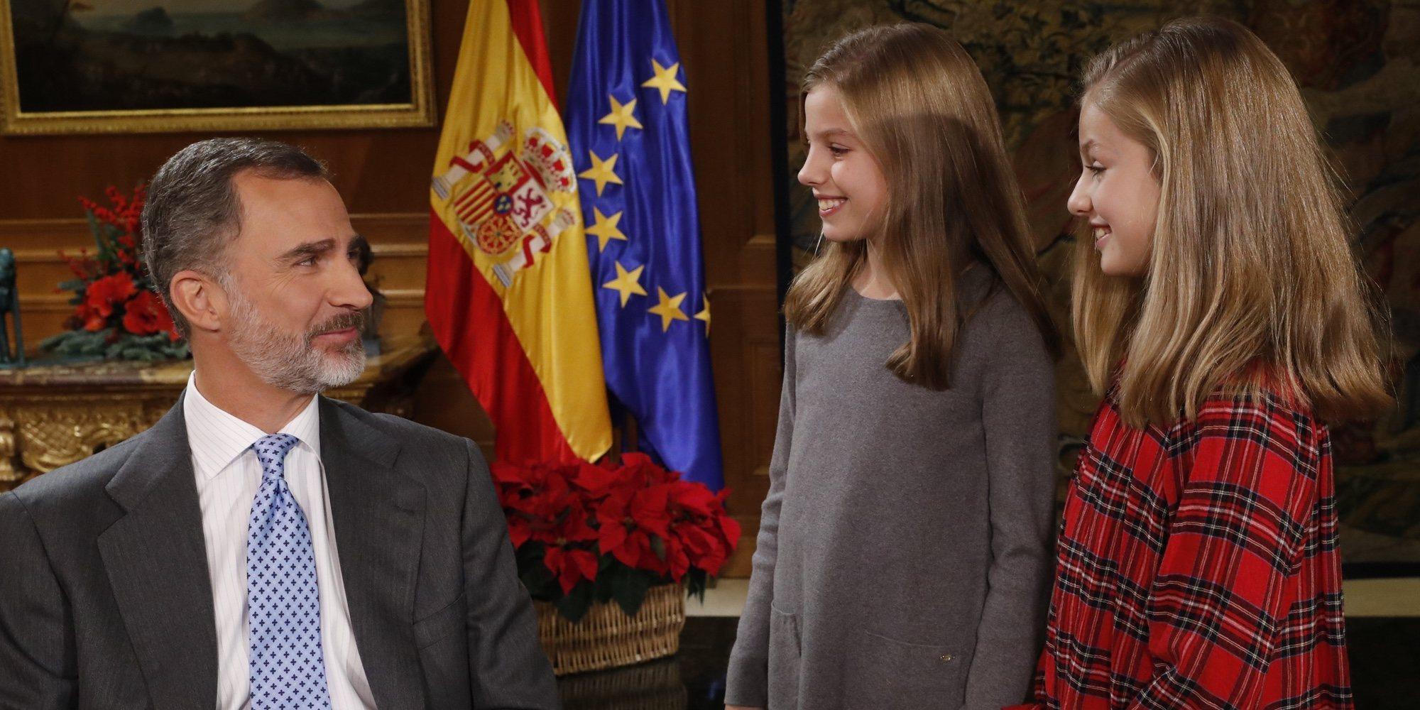 La lección del Rey Felipe a sus hijas Leonor y Sofía sobre homosexualidad y la transexualidad