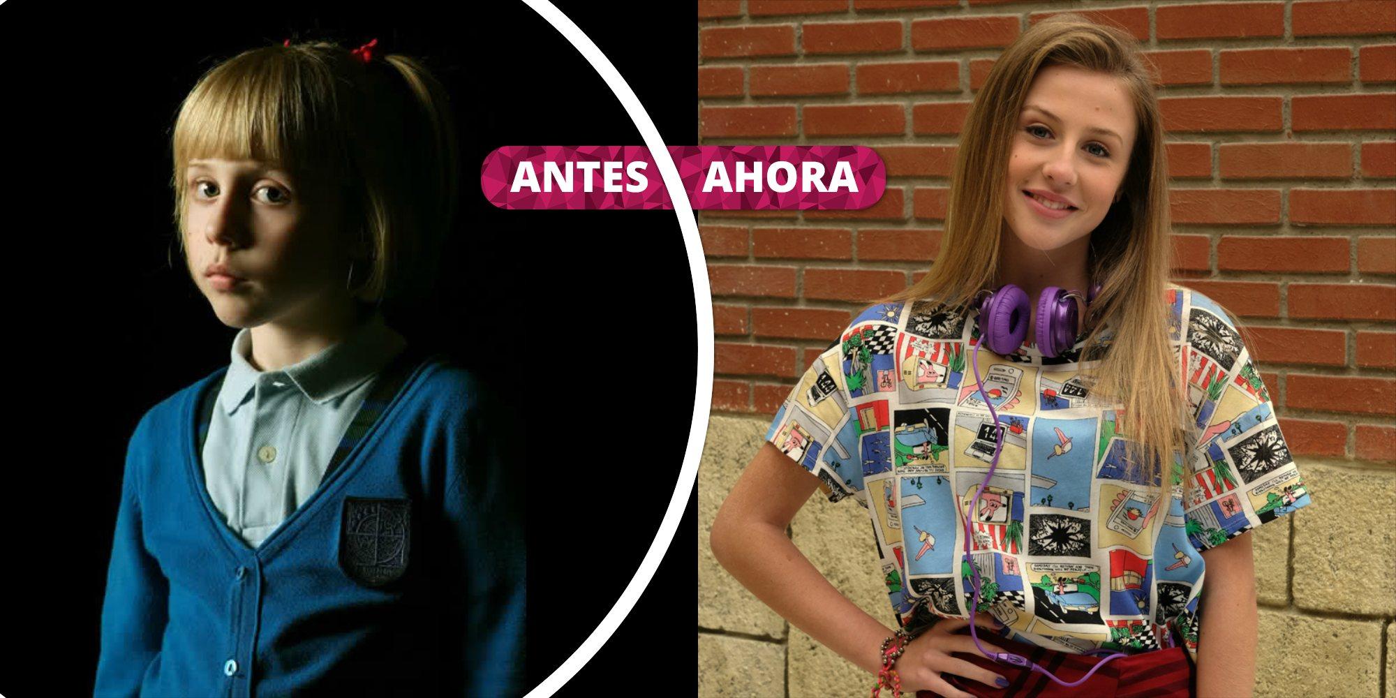 Así ha cambiado Denisse Peña: De Evelyn en 'El Internado' a Olga en 'Servir y proteger'
