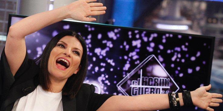 Laura Pausini pide a Pablo Motos hacer juntos 'El Hormiguero' versión italiana