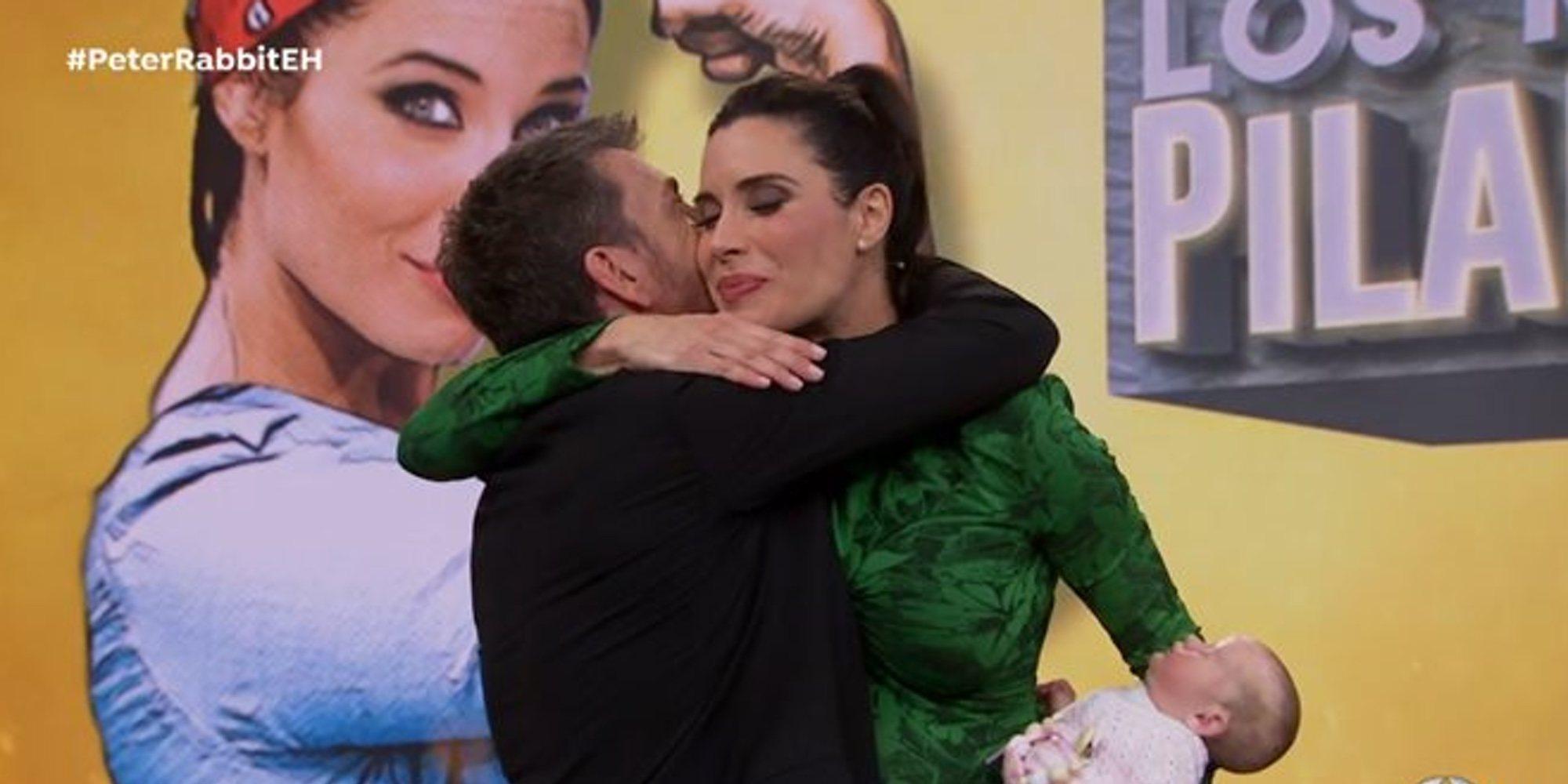 Pilar Rubio preocupa a Pablo Motos porque se podía poner de parto en 'El Hormiguero'