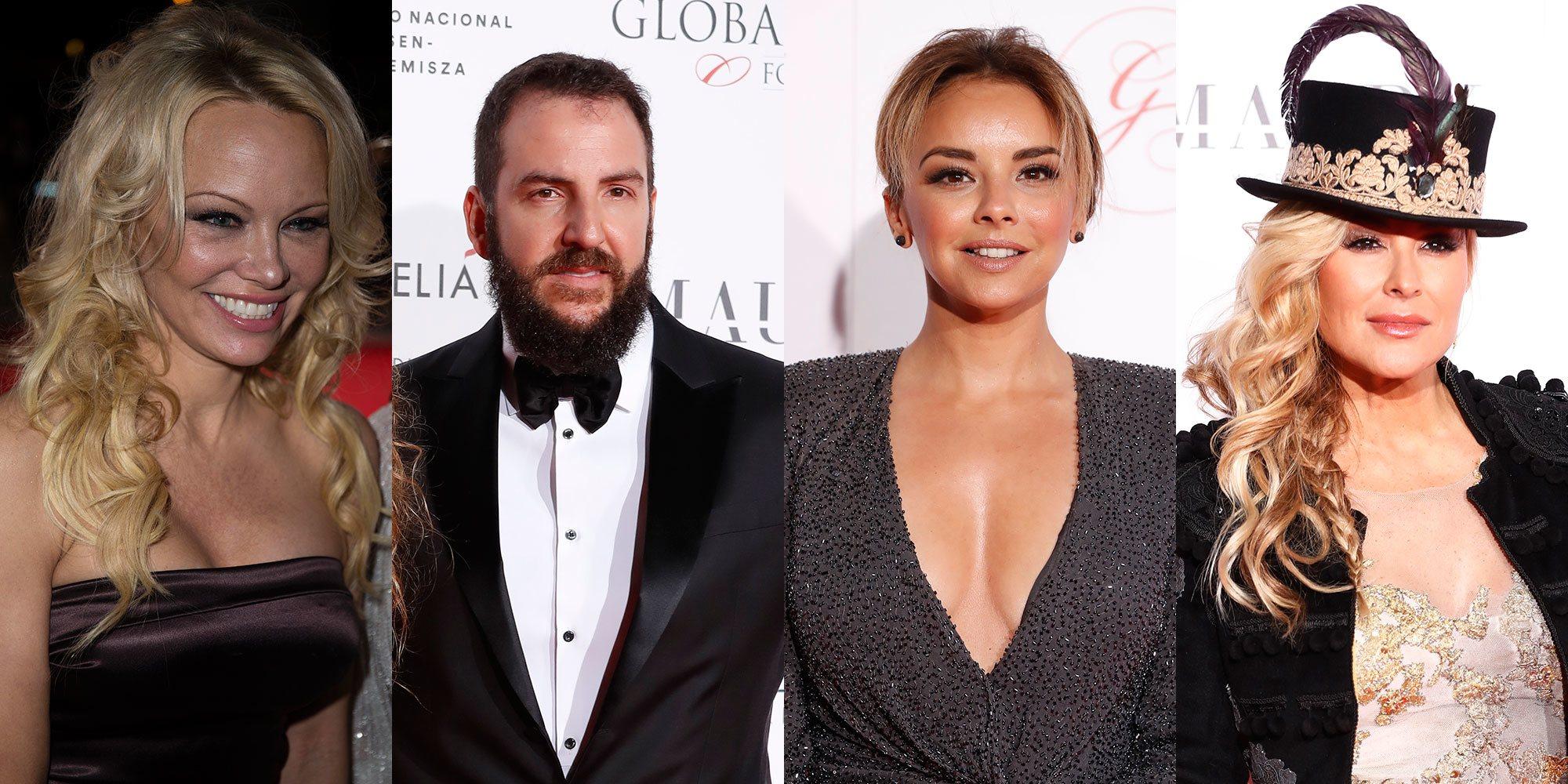 Pamela Anderson, Anastacia, Borja Thyssen y Chenoa, entre los invitados a la fiesta de Global Gift 2018