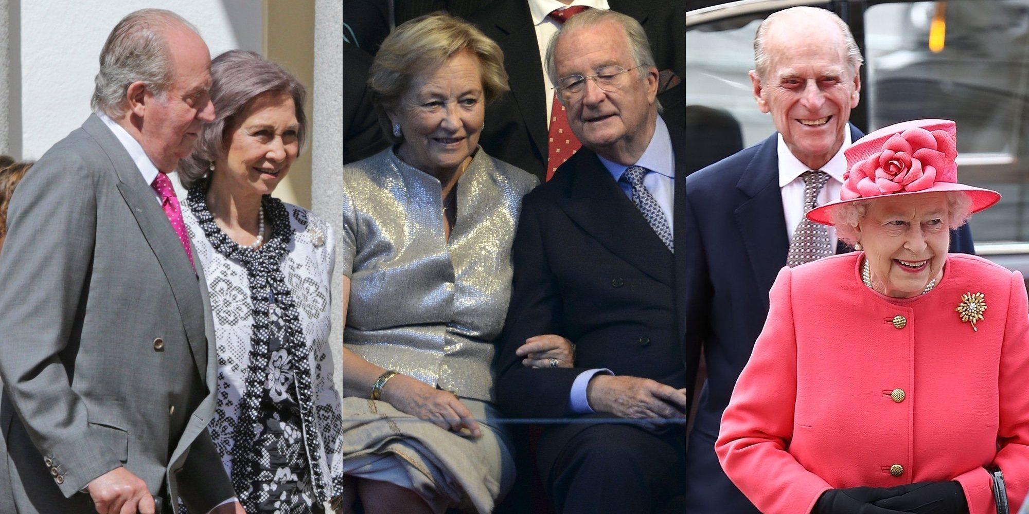 Juan Carlos y Sofía, Alberto y Paola, Isabel y Felipe: los reyes que reconducen sus matrimonios en la vejez