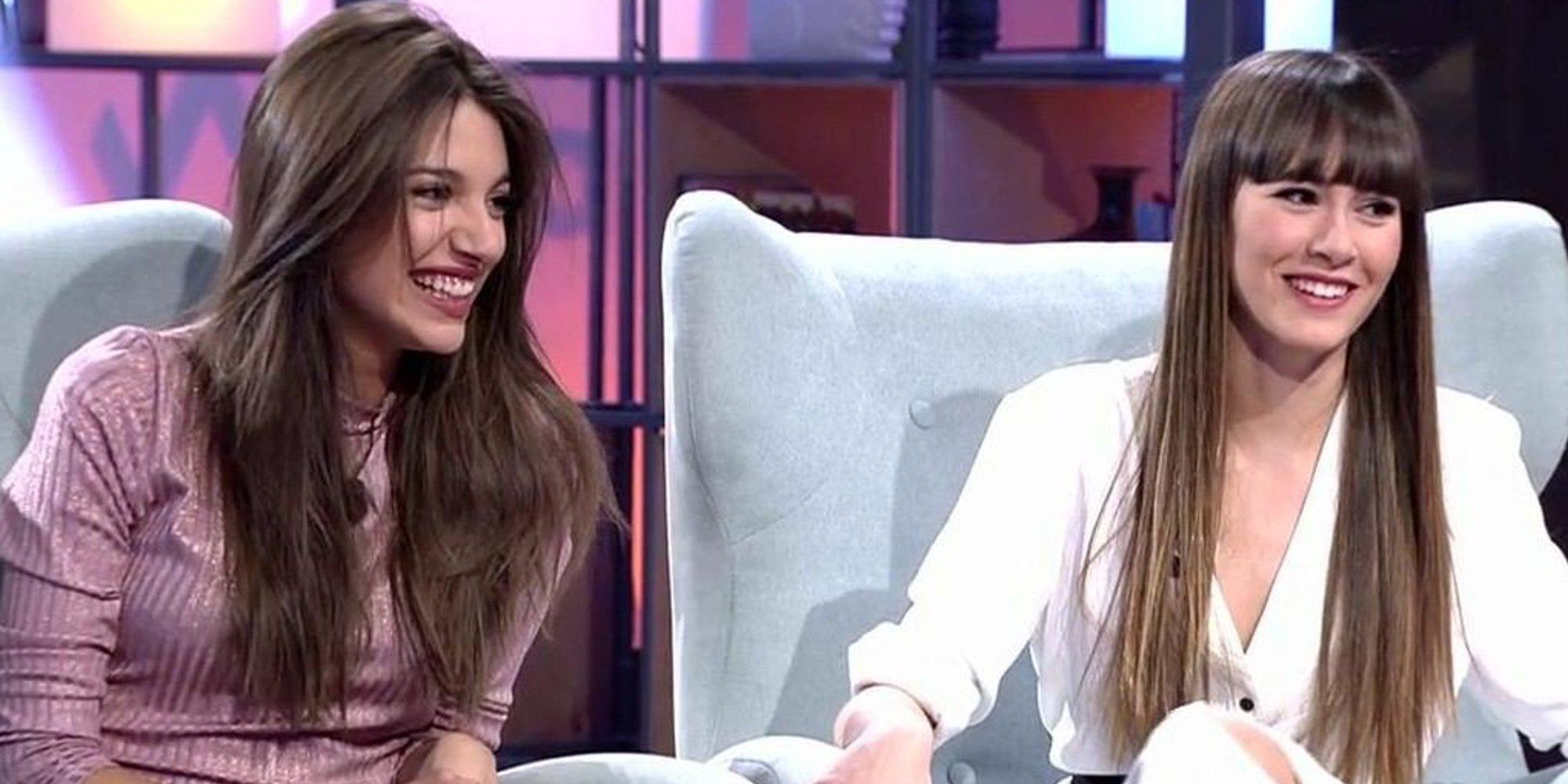 Aitana y Ana Guerra, todo naturalidad y espontaneidad en 'Viva la vida'