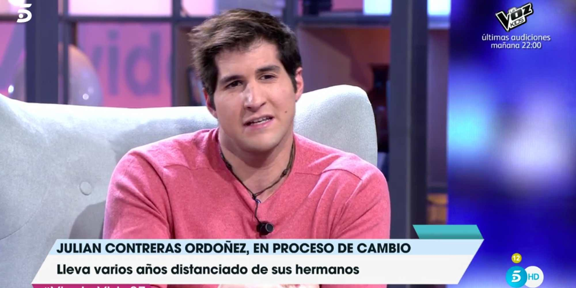 El rapapolvo de Toñi Moreno a Julián Contreras Jr. por no tratar de llamar a sus hermanos para reconciliarse