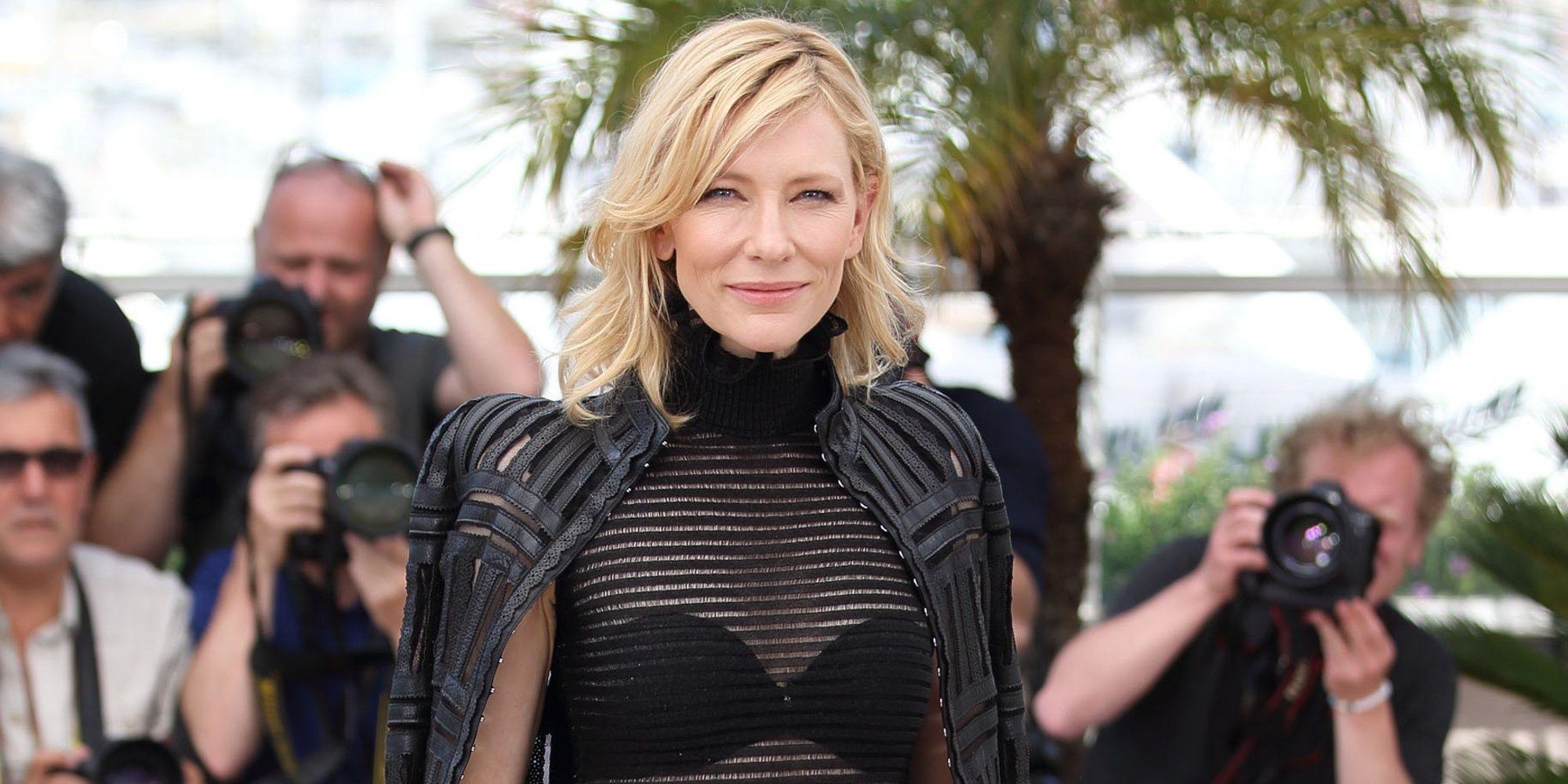"""Cate Blanchett opina sobre la polémica que rodea a Woody Allen: """"Soy una firme creyente en la justicia"""""""